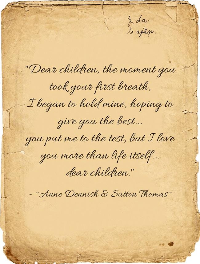 dear children 3