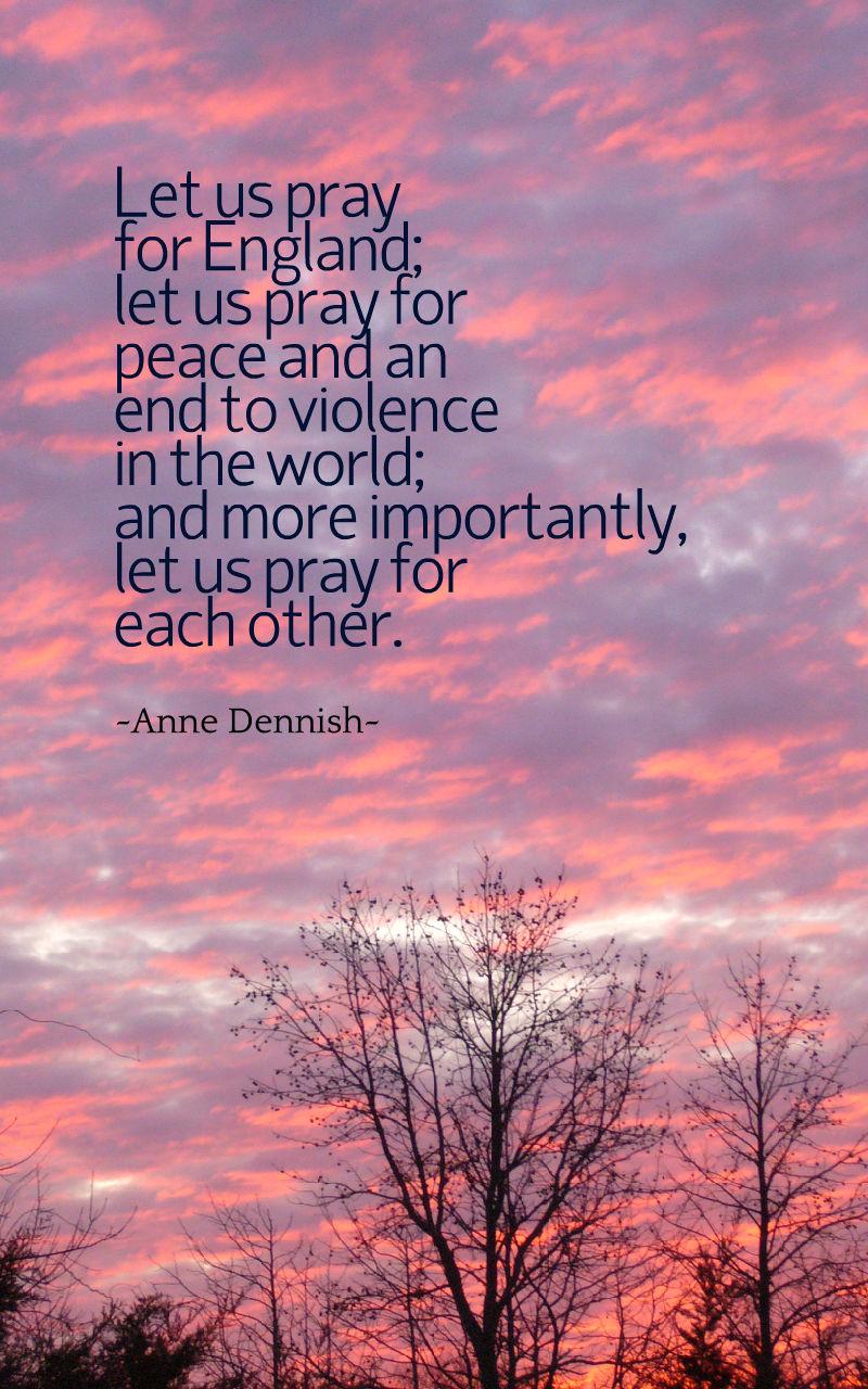 prayers for England