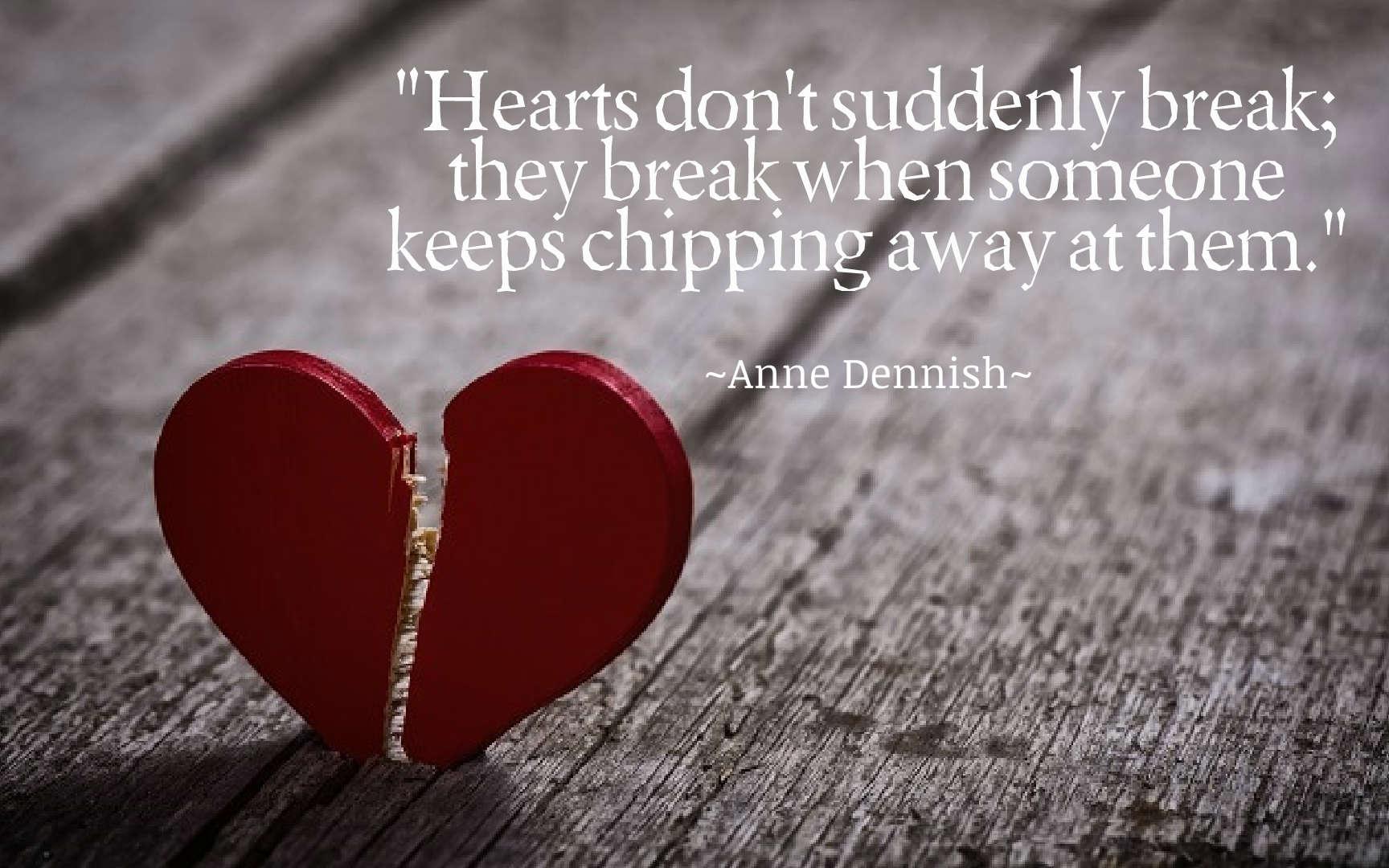 breaking a heart
