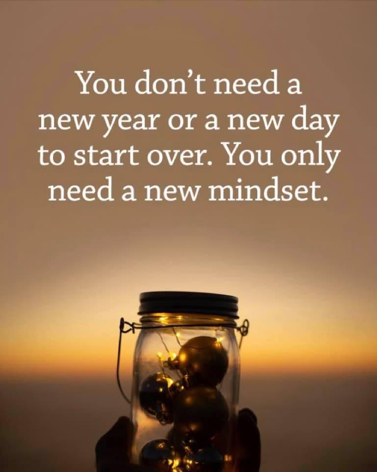 new year mindset